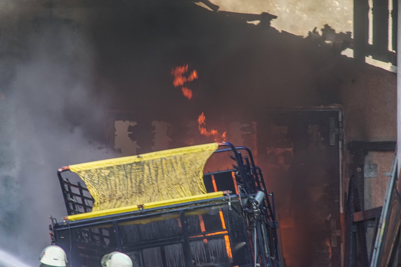 Sindelfingen: Brand auf landwirtschaftlichem Anwesen