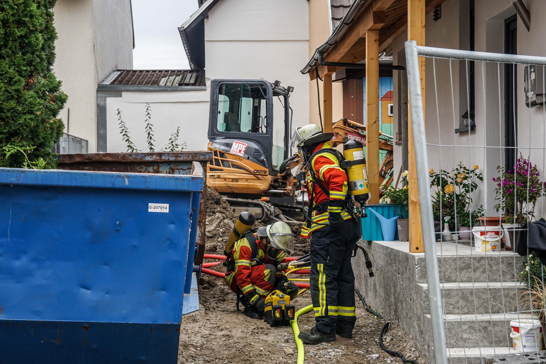 Leonberg: Bagger kappt Gasleitung