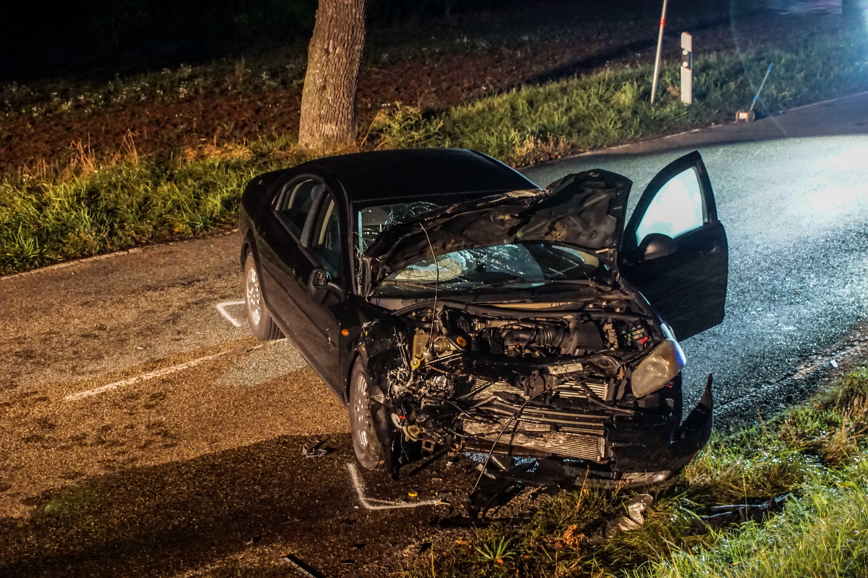 Weil der Stadt (Landesstraße 1179 Hausen an der Würm – Heimsheim): Verkehrsunfall hat einen Schwer- und einen Leichtverletzten zur Folge