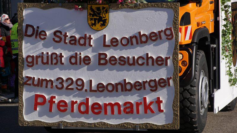 Bildergalerie zum Leonberger Pferdemarkt