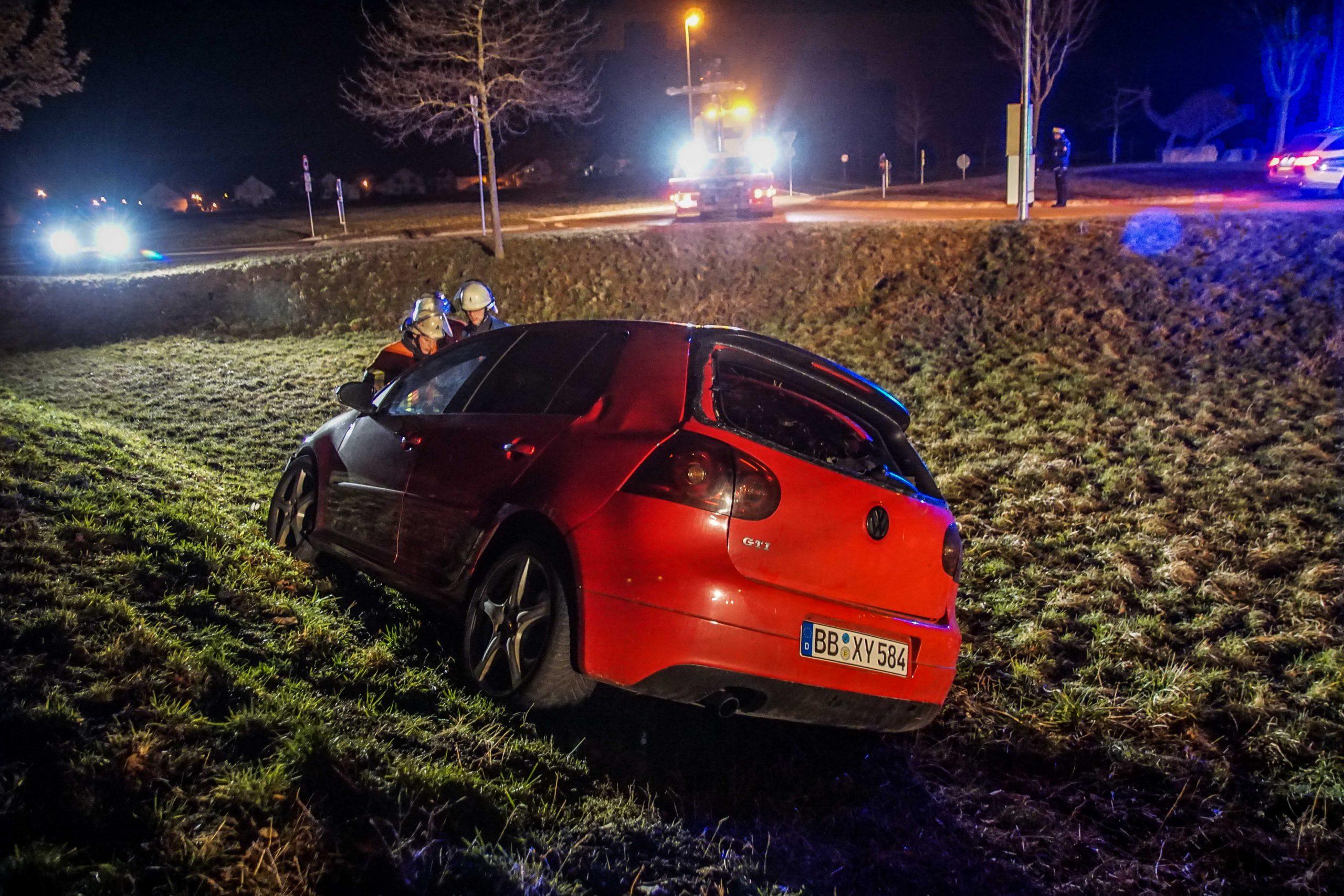 Unfall mit Fahrerflucht in Gärtringen
