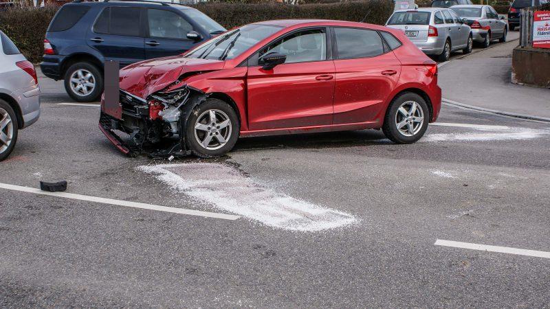 Unfall in Schönaich