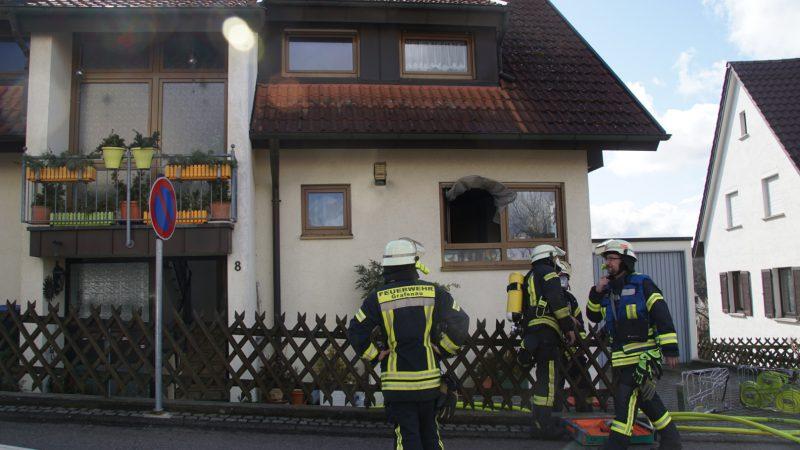 Grafenau-Döffingen: Küchenbrand