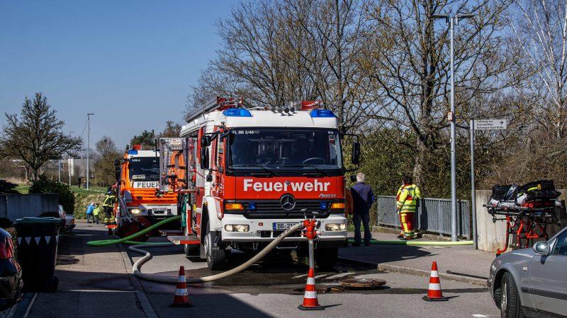 Böblingen-Dagersheim: Kabelbrand in der Turnhalle