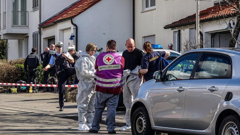 Drei Tote in Wohnhaus entdeckt in Holzgerlingen am 18.3.2020 -mit Video-