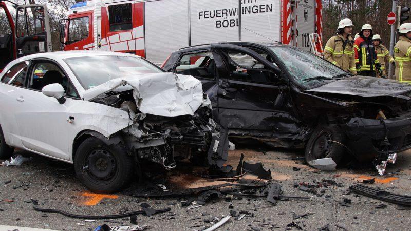 Böblingen: schwerer Unfall auf der B 464