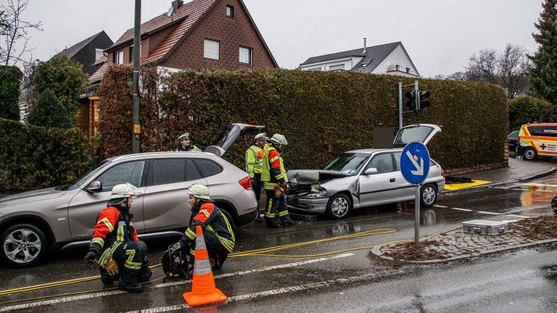 Schönaich: Zwei Verletzte bei Auffahrunfall